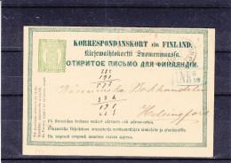 Finlande - Entier Postal De 1873 - Valeur 30 Euros En .....2003 - Interi Postali