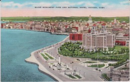 Cuba :   Havana   Maine  Monument   Park - Postcards