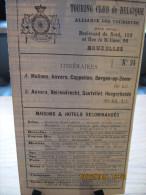 ITINERAIRE TCB N°94 A: MALINES, ANVERS, CAPPELLEN, BERGEN-OP-ZOOM B: ANVERS, BEIRENDRECHT, SANTVLIET, HOOGERHEIDE - Cartes Routières