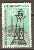 URUGUAY   -   1968    Y&T N° 771 Oblitéré.  Phare  /  Faros  /  Ligthouse.... - Uruguay