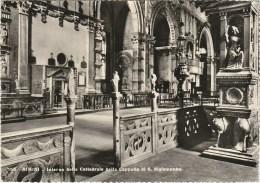 5033.   Rimini - Interno Della Cattedrale Dalla Cappella Di S. Sigismondo - 1957 - Caserma San Rocco Cuneo - Rimini