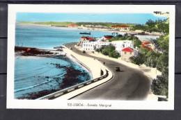 LISBOA. ESTRADA MARGINAL NAO CIRCULADA 1955 - Lisboa