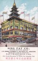 Sing Fat Oriental Bazaar San Francisco California - Shops