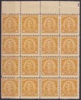 1954-130 CUBA REPUBLICA 1954. 50c Ed.584. PATRIOTAS ANTONIO MACEO BLOCK 16. LIGERAS MANCHAS. - Ungebraucht