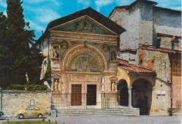 PERUGIA Chiesa San Bernardino Con Auto D´epoca FIAT 500 - Perugia