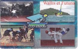 TARJETA DE WALLIS ET FUTUNA DE 25 UNITES DE WF 2013 DEL AÑO 2013 (DEPORTE-SPORT) - Wallis-et-Futuna