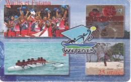 TARJETA DE WALLIS ET FUTUNA DE 25 UNITES DE WF 2013 DEL AÑO 2013 (DEPORTE-SPORT) - Wallis And Futuna