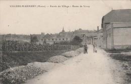 Villers Marmery - Entrée Du Village  - Route De Verzy  - Scan Recto-verso - Other Municipalities
