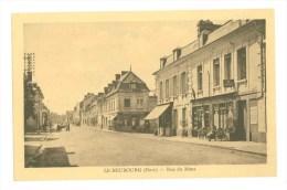 27 - LE NEUBOURG - Rue Du Mans (Café, Restaurant...Tabac...) - Le Neubourg