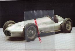 PHOTOGRAPHIE MERCEDES BENZ  W 163- 1939 - AVEC DESCRIPTIF AU VERSO - Cars