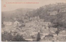 Cpa Saint-Romain-le-Haut Et Saint-Romain-le-Bas.  (JC Autun) - France