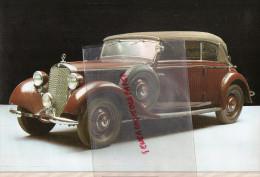 PHOTOGRAPHIE MERCEDES BENZ  230 - 1938 - AVEC DESCRIPTIF AU VERSO - Cars