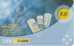 TARJETA DE MICRONESIA DE PREPAID PLUS DE $5 (FSM TELCARD) MOVIL - Micronesia
