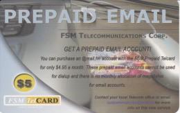 TARJETA DE MICRONESIA DE TELECOMMUNICATIONS CORP. DE $5 (FSM TELCARD) - Micronesia