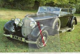 PHOTOGRAPHIE MERCEDES BENZ  500 K - 1935 - AVEC DESCRIPTIF AU VERSO - Cars