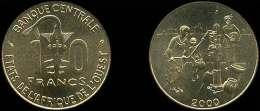 AFRICA DEL OESTE  (WEST AFRICAN STATES)  10 FRANCOS 2.000  F.A.O. Latón KM#10  SC/UNC  DL-11.608 - Otros – Africa