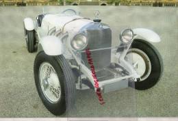 PHOTOGRAPHIE MERCEDES BENZ  SSK  1928 - AVEC DESCRIPTIF AU VERSO - Cars