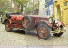 PHOTOGRAPHIE MERCEDES BENZ  24/100/140 K - 1926 - AVEC DESCRIPTIF AU VERSO - Voitures