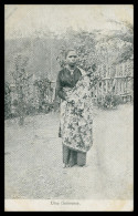 ASIA - TIMOR  - COSTUMES - Uma Timorense   Carte Postale - Timor Orientale