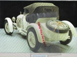 PHOTOGRAPHIE MERCEDES BENZ  10/40/65 - 1924 - AVEC DESCRIPTIF AU VERSO - Cars