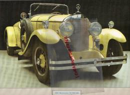PHOTOGRAPHIE MERCEDES BENZ  24/100/140 - 1924 - AVEC DESCRIPTIF AU VERSO - Cars
