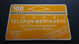 Austria - Telecom Austria - 1991-12-01 - 100öS - CN:112D - ANK:33 - Used - Look Scan