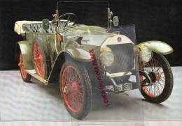 PHOTOGRAPHIE MERCEDES BENZ  8/20 - 1812  - AVEC DESCRIPTIF AU VERSO - Cars