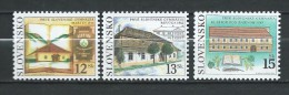 Slovakia 2002 The First Slovak Gymnasiums.Mi - 419/21.MNH - Slowakije