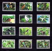 TONGA 2013 - Faune, Oiseaux - 12v Neufs // Mnh - Tonga (1970-...)