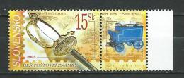 Slovakia 2005 Postage Stamp Day.Mi - 526.MNH - Slowakije