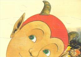 """Carte Postale édition """"Dix Et Demi Quinze"""" (puzzle De 9 Pièces) Grasset-Jeunesse - Illustration : Claude Lapointe - Fumetti"""