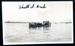 Schatt Al Arab - 1, Boot Mit Frauen, Foto, Original Photo, Irak, Iraq, Ca. 1925-1930 - Irak
