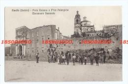 AMELIA - PORTA ROMANA E MURA PELASGICHE F/PICCOLO VIAGGIATA ANIMATA - Terni