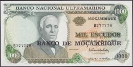 F-EX.1817 PORTUGAL MOÇAMBIQUE MOZAMBIQUE 1000 ESCUDOS UNC. - Portugal