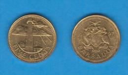 BARBADOS   5  CENTIMOS  1.997  LATÓN  KM#11   SC/UNC      DL-11.609 - Monedas