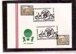 AU609     -      MICHAELBEUERN  27.9.1991   /    BRIEFMARKEN WERBESCHAU - Sin Clasificación