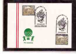 AU621     -   ZELL Am ZILLER  4.10.1991     /     ALMABTRIEB   ZELL IM ZILLERTAL - Briefmarken