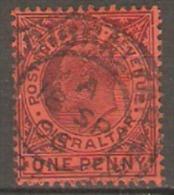 Gibraltar 1904 SG 57 Fine Used. - Gibraltar