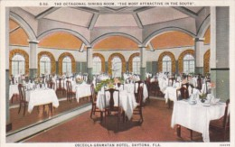 Florida Daytona Interior Octagonal Dining Room Osceola Gramatan