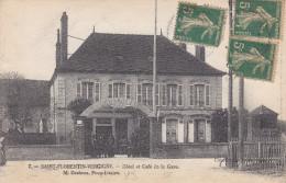 89. Yonne . Saint Florentin - Vergigny : Hotel Et Café De La Gare . - Saint Florentin