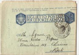 STORIA POSTALE REGNO,CARTOLINA POSTALE FORZE ARMATE, POSTA MILITARE N. 3900 FRANCHIGIA, 149 - War 1939-45