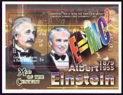 GRENADA  & 2204 MINT NEVER HINGED SHEETLET OF ALBERT EINSTEIN  #  13  ( - Albert Einstein