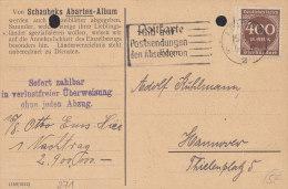 INFLA DR 271 EF, Auf Postkarte Der Fa. C.F.Lücke, Mit Gel.-Stempel (Filbrandt 17,2): Leipzig Gib...Absender An 15.8.1923 - Infla