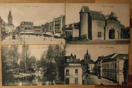 Lot 9 Cpa Douai Nord (Sépia Non écrites Bon état) - LC15 - 5 - 99 Cartes