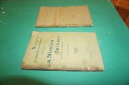 Rares Fascicules Les Grands Explorateurs (tome III). La Mission Galliéni (Pacification De Madagascar) 1 Et 2 1900 - 1901-1940