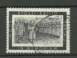 FINLAND FINNLAND Suomi 1941 Michel 237 In Memoriam K. Kallio O - Finland