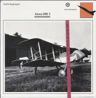 Vliegtuigen.- Airco DH 2 - Jachtvliegtuigen. -  Groot-Brittannië - Vliegtuigen
