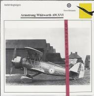 Vliegtuigen.- Armstrong Whitworth AW.XV! - Jachtvliegtuigen. -  Groot-Brittannië - Vliegtuigen