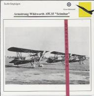 Vliegtuigen.- Armstrong Whitworth AW.35 - Scimitar - Jachtvliegtuigen. -  Groot-Brittannië - Vliegtuigen