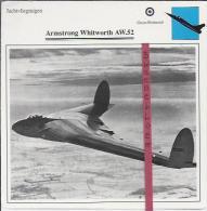 Vliegtuigen.- Armstrong Whitworth AW.52 - Jachtvliegtuigen. -  Groot-Brittannië - Vliegtuigen